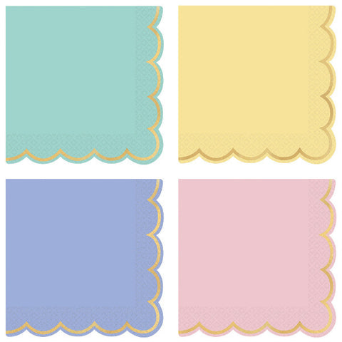 Spring Pastels Lunch Napkins