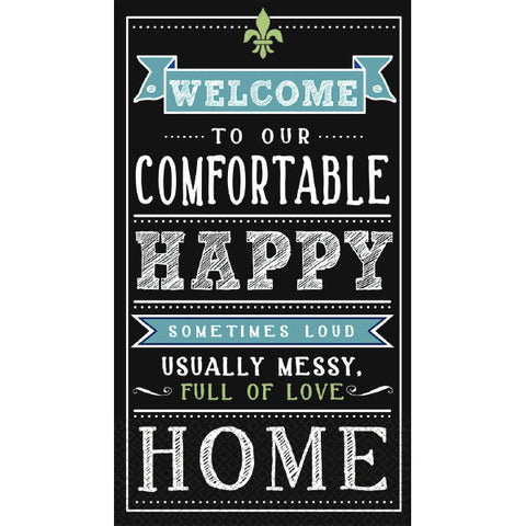 Happy Home Guest Towels