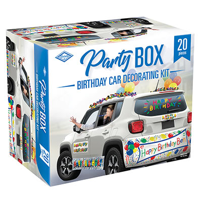 Birthday Car Decorating Kit