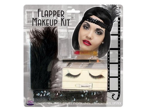 Flapper Head Band Makeup Kit
