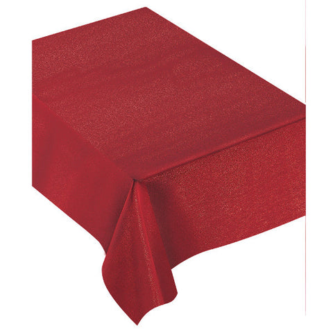 "Luxury Table Cover, Red, 60"" x 84"""