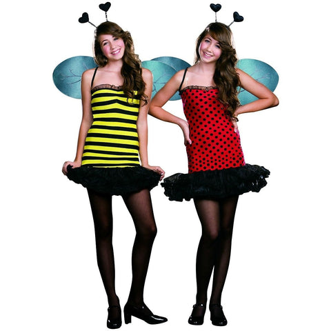 Buggin' Out - Teen Girl's Reversible Bug Costume