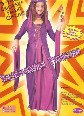 Renaissance Princess - Girl's Costume