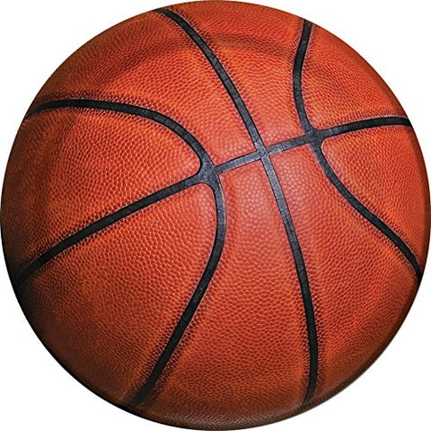 Sports Basketball Plate 8ct