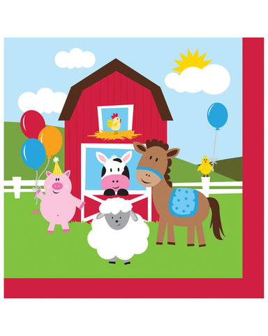 Farmhouse Fun General Birthday 2-Ply Lunch Napkins (18 Ct.)
