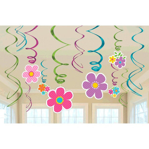 Spring Value Pack Swirl Decorations
