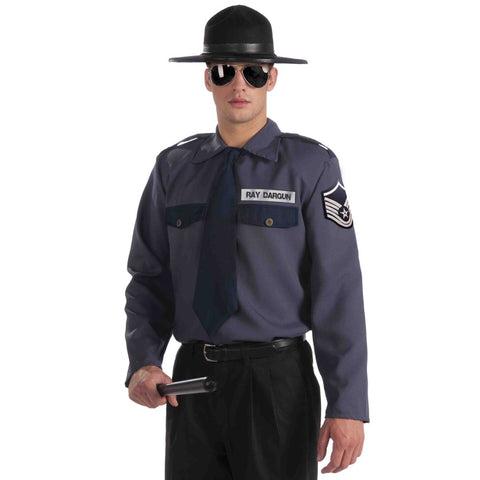 State Trooper - Men's Costume Shirt with Hat