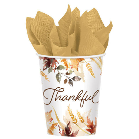 Classic Thanksgiving Cups, 9 oz.