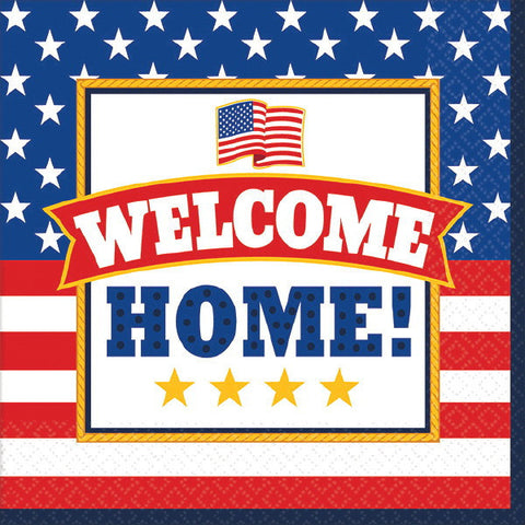 Welcome Home Beverage Napkins (36 Ct.)
