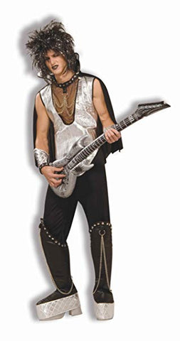 Men's 80's To The Maxx Rock On Pop Star Costume - STD