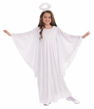 Child's Angel Costume (Small 4-6)