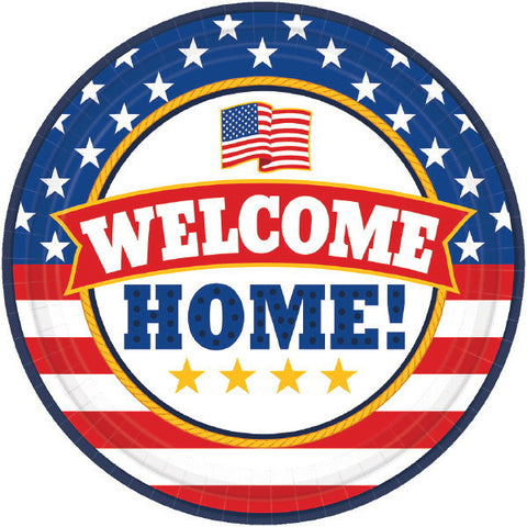 "Welcome Home 7"" Dessert Plates (18 Ct.)"