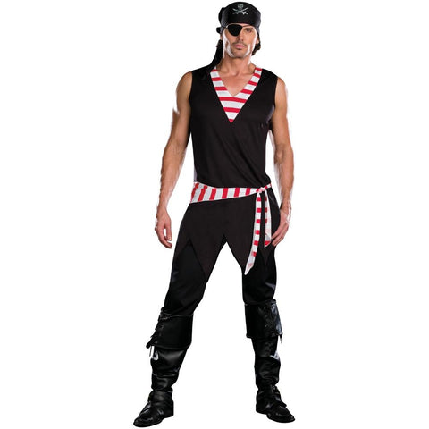 Ships Ahoy - Men's Sexy Pirate Costume (4 Pc.)