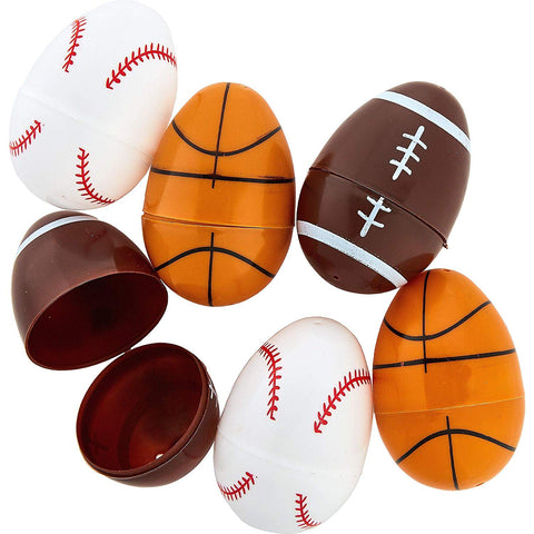 Easter Large Sports Eggs 3""