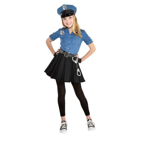 Girls Officer Cutie Cop Costume