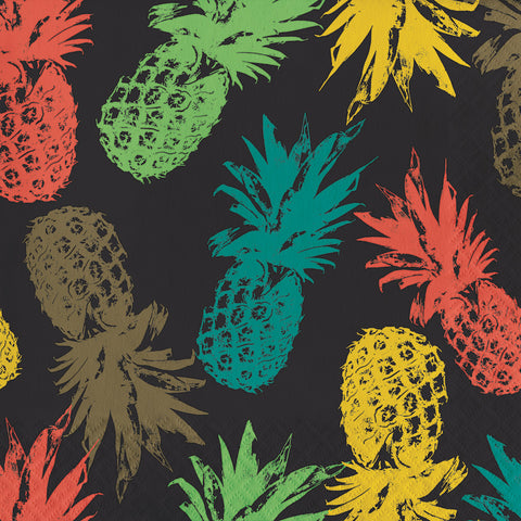Havana Piña Colada Lunch Napkins 16ct