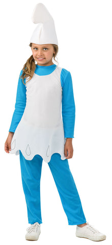 Smurfette, The Smurfs Movie - Girl's Costume