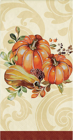Autumn Wreath Fall Thanksgiving Dinner Napkins