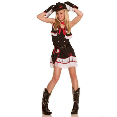 Cowgirl Cutie - Teen Girl's Costume (7 Pc.)