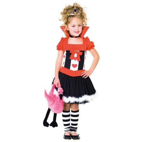 Queen of Hearts - Girl's Wonderland Costume