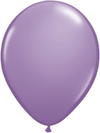 "Latex 11"" Lilac Balloons"