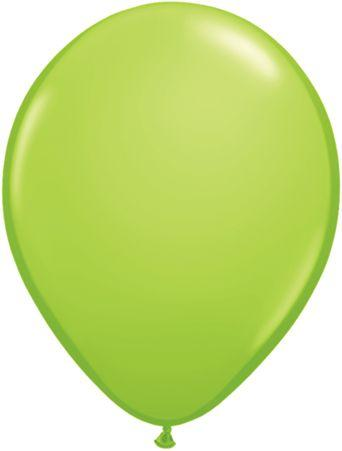 "Latex 11"" Lime Green Balloons"