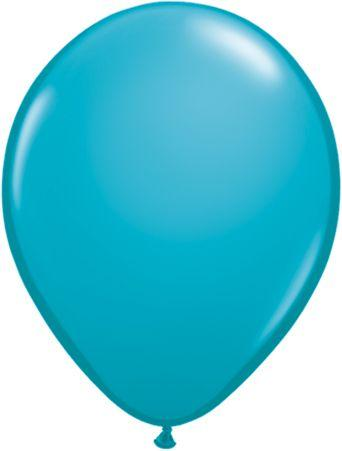 "Latex 11"" Tropical Teal Balloons"