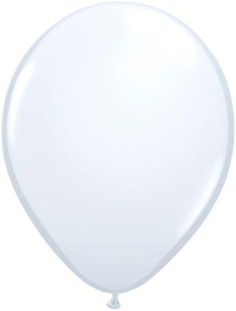 "Latex 11"" White Balloons"