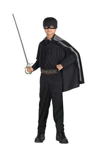 Zorro - Boy's  Masked Outlaw Costume
