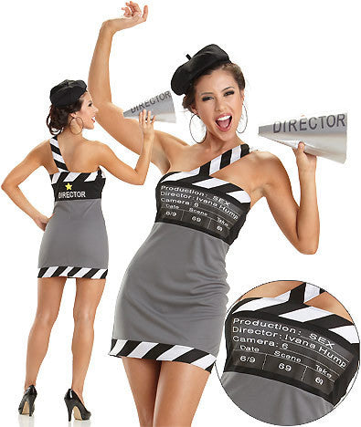 "Adult Movie ""Director"" (Sexy Costume)"