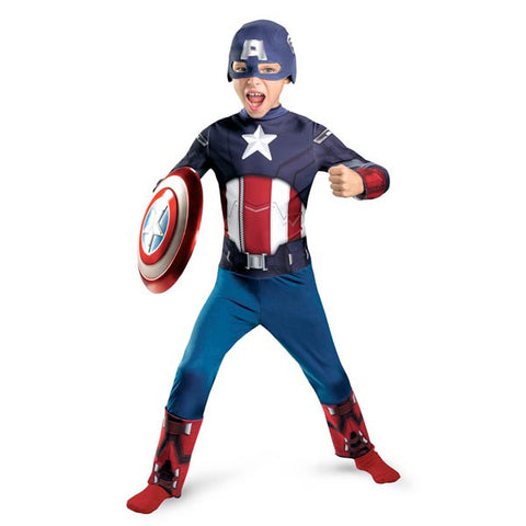 Captain America, The Avengers - Boy's Costume