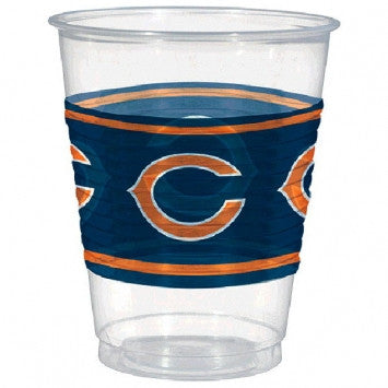 Chicago Bears Plastic Cups