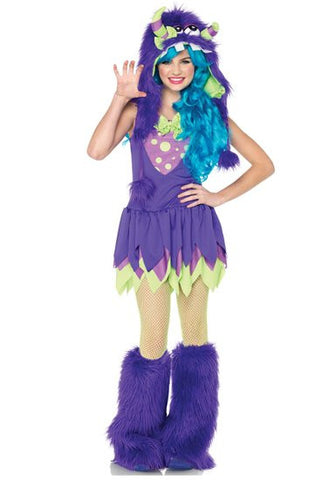 Gerty Growler - Teen Girl's Monster Costume