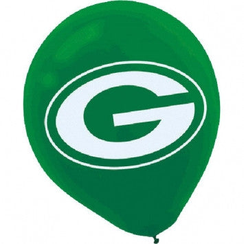 Green Bay Packers Latex Balloons