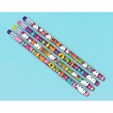 Hello Kitty Rainbow Pencil Favors