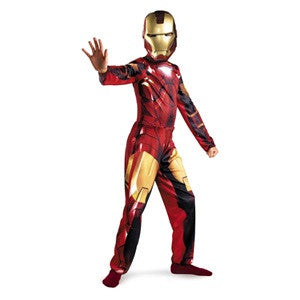 Iron Man Mark VI Suit - Boy's Iron Man 2 Standard Costume (Large)