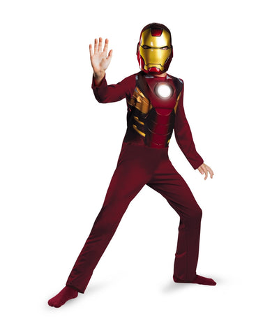 Iron Man Mark VII Suit - Boy's Marvel Avengers Standard Costume