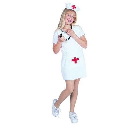 Cute-T-Nurse - Girl's Costume