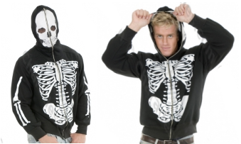Men's Skeleton Sweatshirt Hoodie