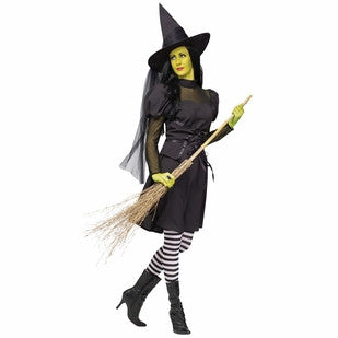 Ms. Wick'd - Women's Witch Halloween Costume