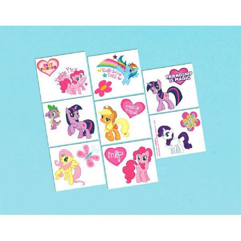 My Little Pony: Friendship is Magic Temporary Tattoos (16 Ct.)