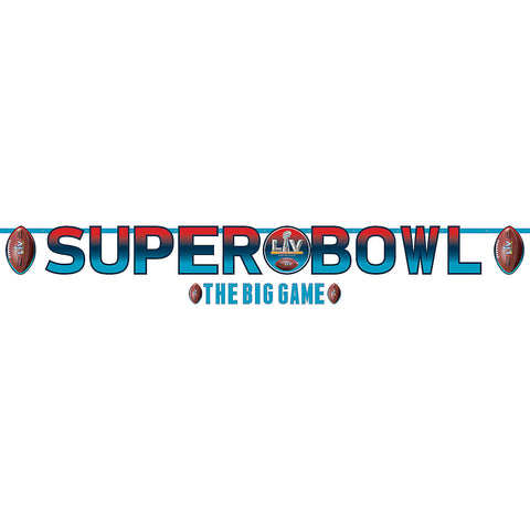 Super Bowl 2021 Letter Banners Kit, 2ct