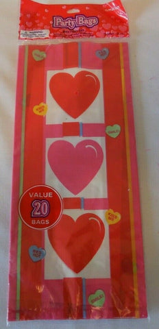 Valentine's Treat Bags 20ct