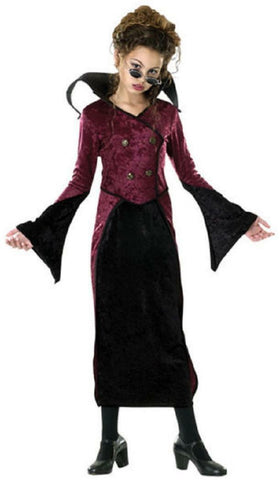 Baroness Gothic Vampire Covenant Countess Fancy Dress Up Halloween Child Costume