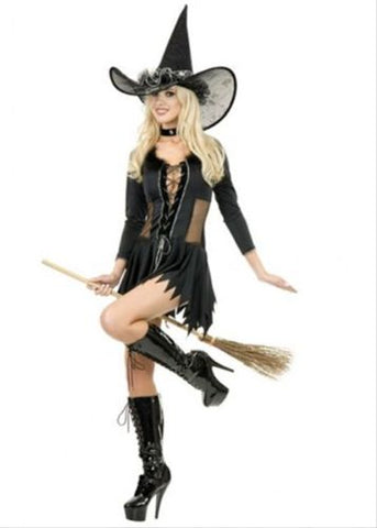 Sexy Wicked Witch Complete Costume