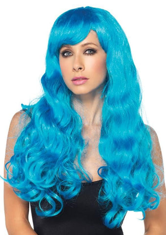 Starbright Long Wavy Wig (Blue)