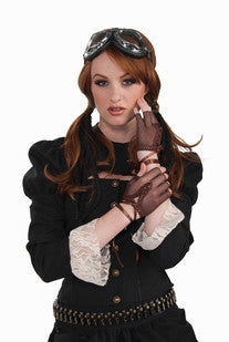 Steampunk Fingerles Gloves