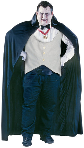 Vampire - Men's Halloween Costume (Plus Size)
