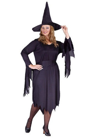 Witchy Witch - Women's Complete Costume (Plus Size)