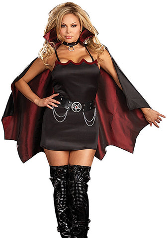 Fang Bangin' Fun Vamp - Women's Sexy Adult Costume